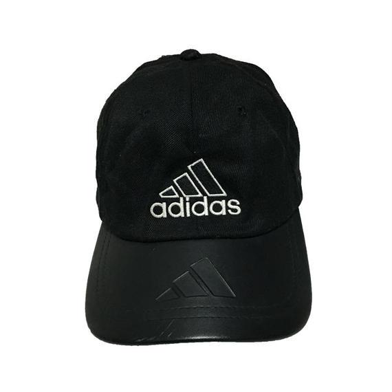【USED】00'S ADIDAS EMBOSSING 3STRIPES LOGO CAP
