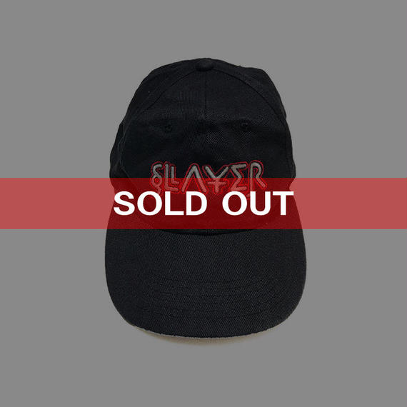 "【USED】90'S SLAYER ""DIABOLUS IN MUSICA"" CAP"