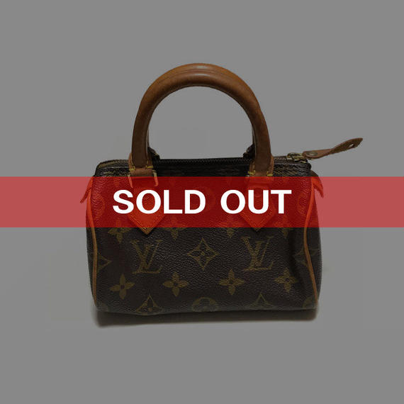 【USED】LOUIS VUITTON MINI SPEEDY