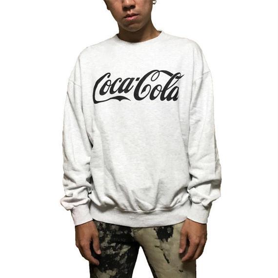 【USED】90'S COCA-COLA SWEATSHIRT GLEY