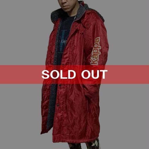 【USED】90'S KAPPA SPORTS COAT RED