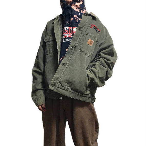 【USED】CARHARTT × VIATEC BOMBER WORK JACKET