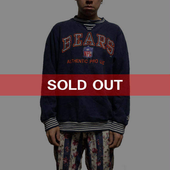 【USED】90'S  NFL BEARS SWEATSHIRT