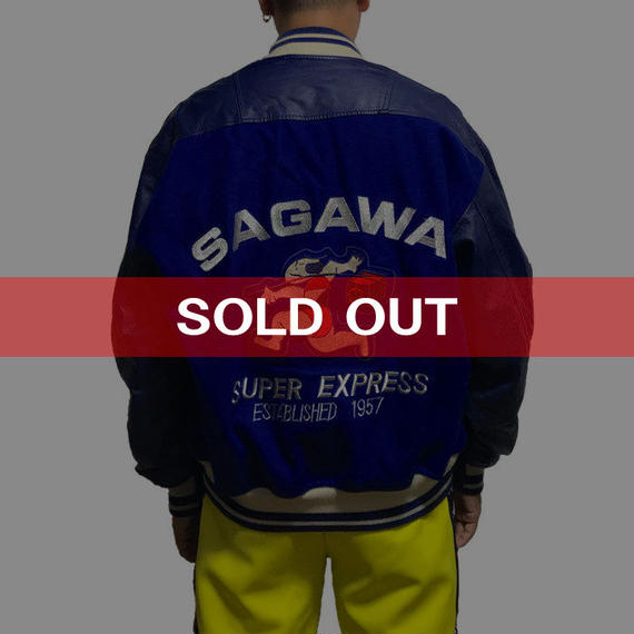 【USED】90'S SAGAWA STADIUM JACKET