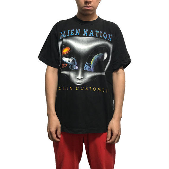 【USED】90'S ALIEN NATION T-SHIRT