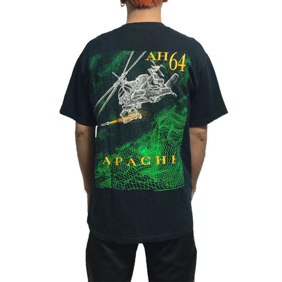【USED】90'S AH-64 APACHE T-SHIRT