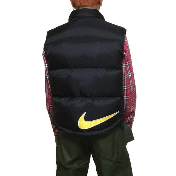 【USED】90'S NIKE DOWN VEST SWOOSH