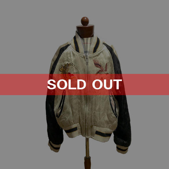 【USED】50'S REPLICA KID'S SOUVENIR JACKET