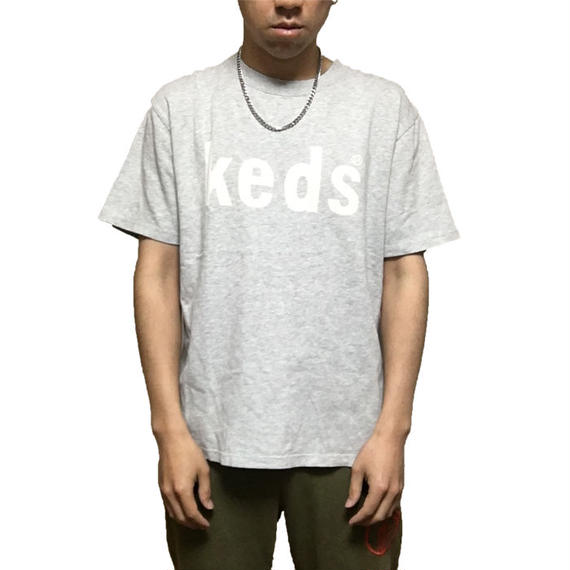 【USED】90'S KEDS LOGO T-SHIRT