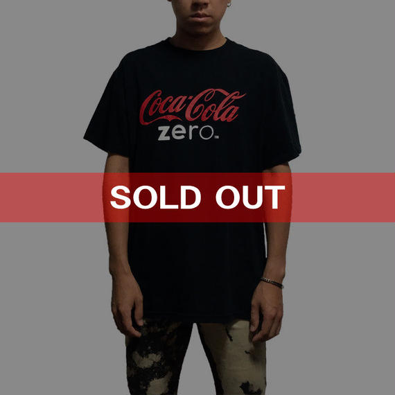 【USED】COCA COLA ZERO T-SHIRT