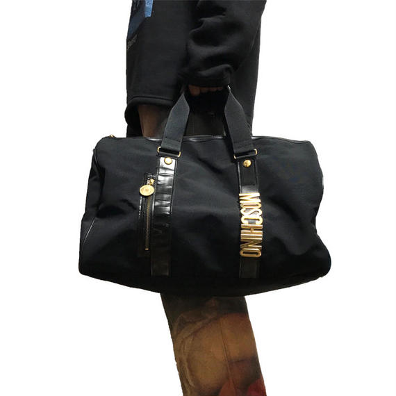 【USED】90'S MOSCHINO BOSTON BAG