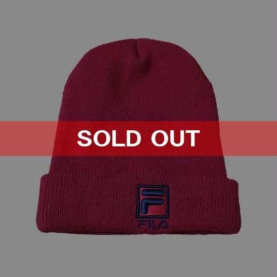 【USED】90'S FILA KNIT CAP