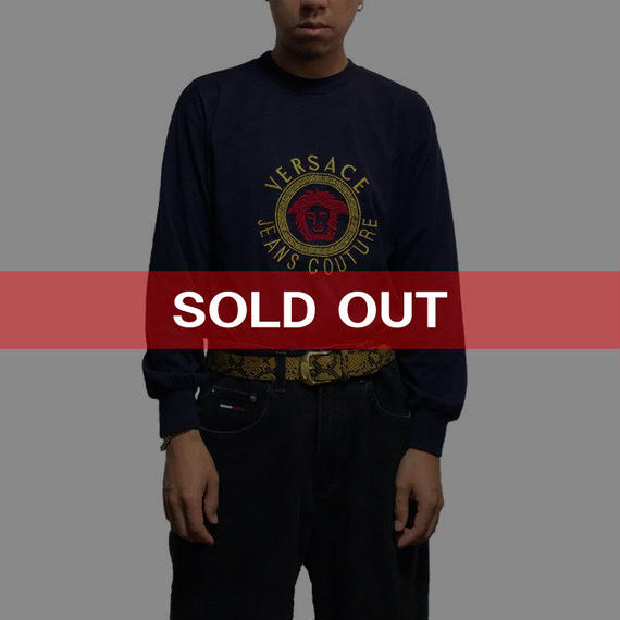 【USED】90'S BOOTLEG VERSACE JEANS L/S T-SHIRT