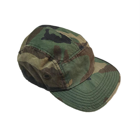 【USED】90'S  NEW YORK HAT CO. JET CAP CAMO