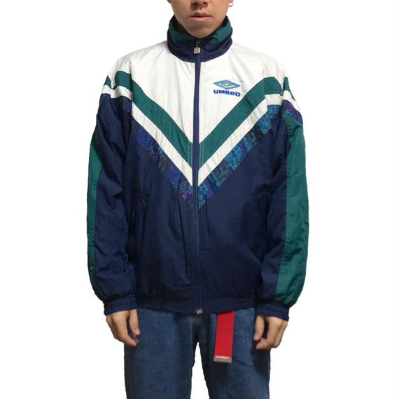 【USED】90'S  UMBRO SPORTS JACKET