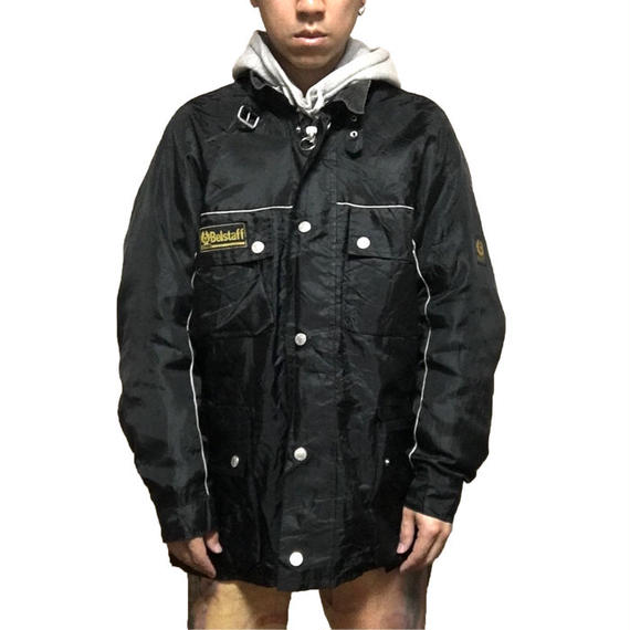 【USED】BELSTAFF MOTOR CYCLE NYLON JACKET