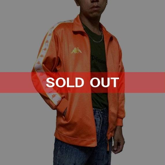 【USED】KAPPA TRACK JACKET ORANGE