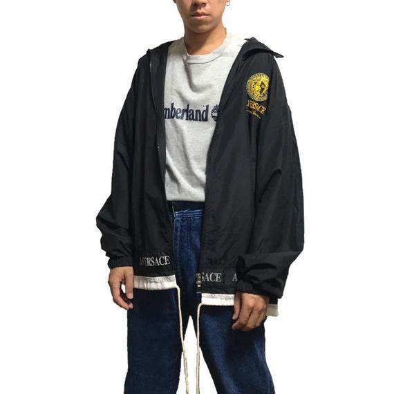 【USED】90'S A.VERSACE NYLON TRACK JACKET