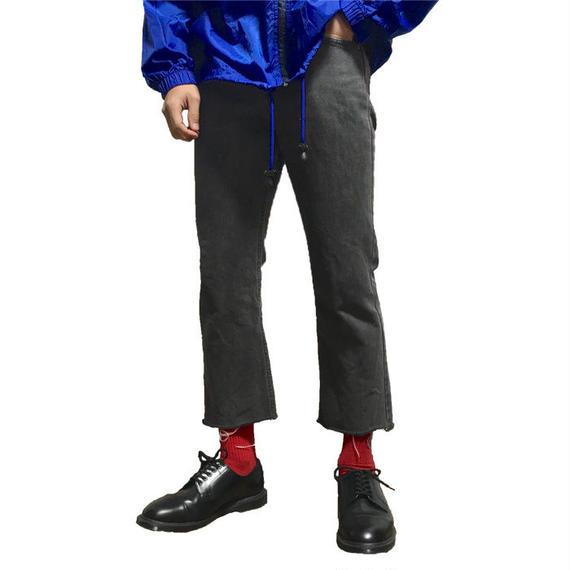 【USED】90'S POLO JEANS CUTOFF DENIM PANTS