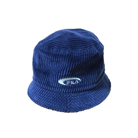 【USED】80'S-90'S FILA CORDUROY HAT