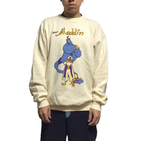 【DEADSTOCK】90'S DISNEY ALADDIN SWEATSHIRT