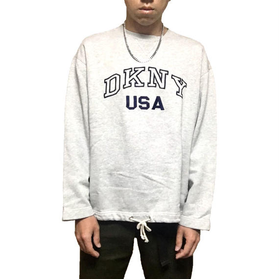 【USED】90'S DKNY SWEATSHIRT