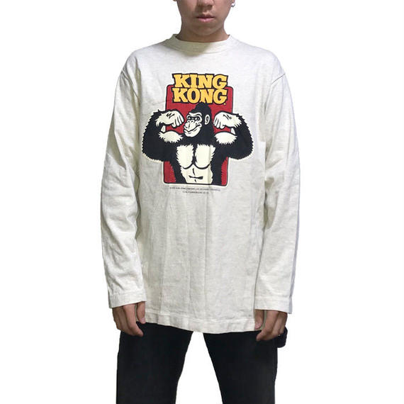 【USED】90'S KING KONG L/S T-SHIRT