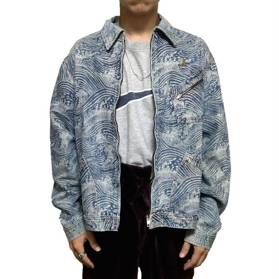 【USED】90'S VIVIENNE WESTWOOD WAVE DENIM JACKET