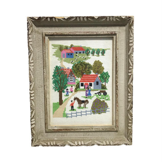 【USED】VINTAGE FRAMED SWEDISH TVISTSÖM