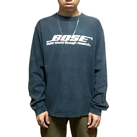【USED】90'S BOSE L/S T-SHIRT