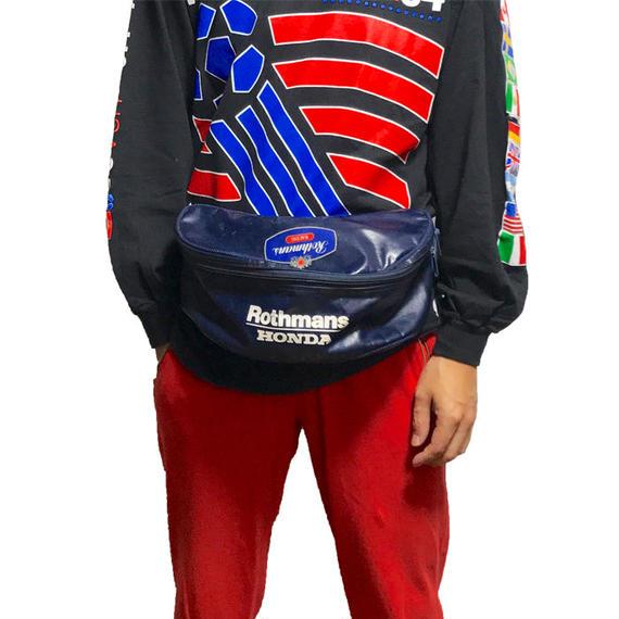 【USED】90'S ROTHMANS × HONDA BUM BAG