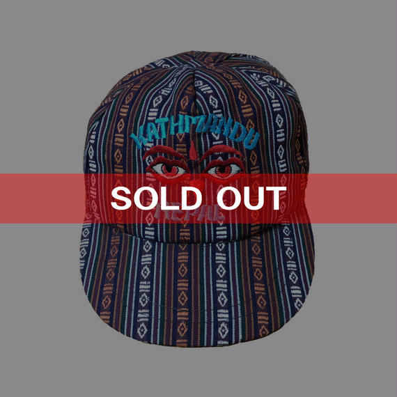 【USED】NEPAL EMBROIDERY CAP