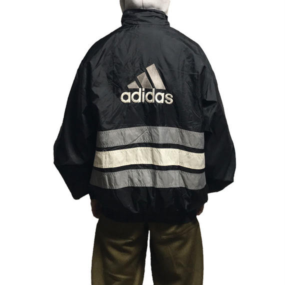 【USED】90'S ADIDAS OVERSIZED NYLON JACKET