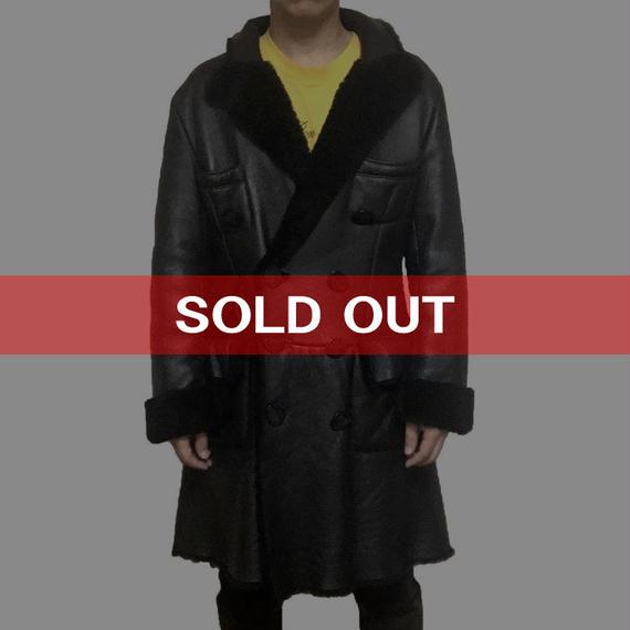 【USED】90'S VIVIENNE WESTWOOD GOLD LABEL MOUTON COAT BLACK