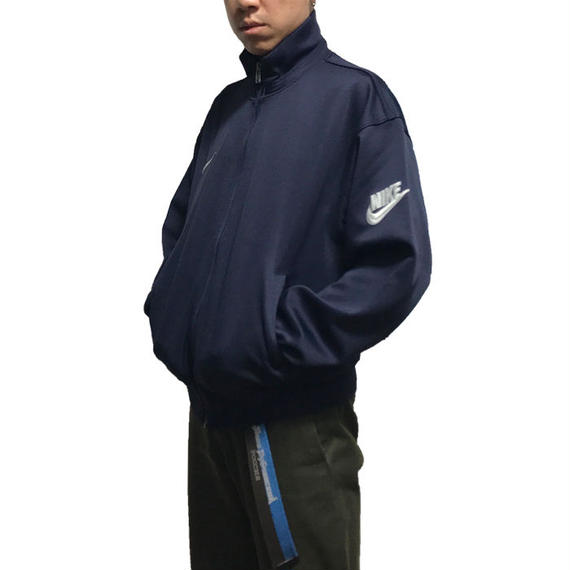 【USED】90'S NIKE SWOOSH DESIGN TRACK JACKET