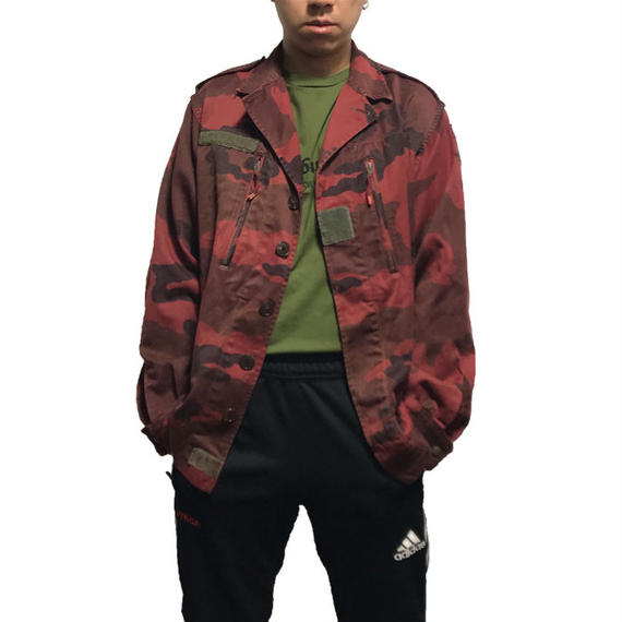 【USED】FRENCH ARMY F2 JACKET RED