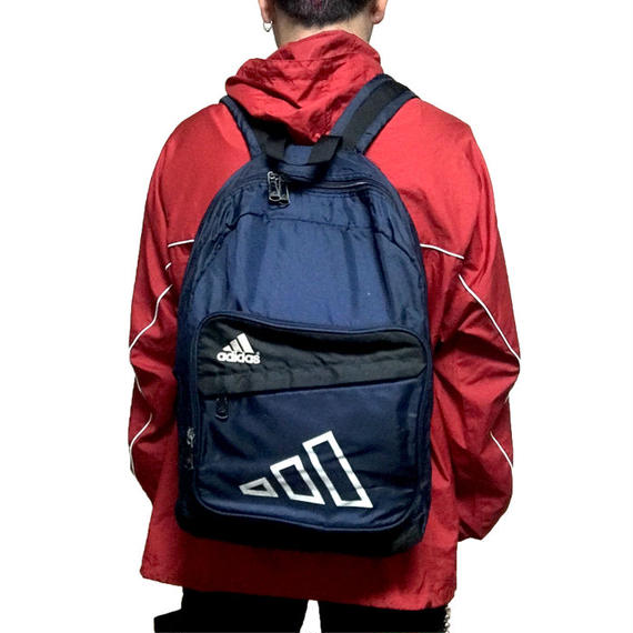 【USED】90'S ADIDAS LOGO BACKPACK