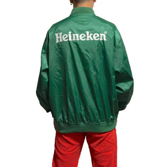 【USED】90'S HAINEKEN NYLON BLOUSON