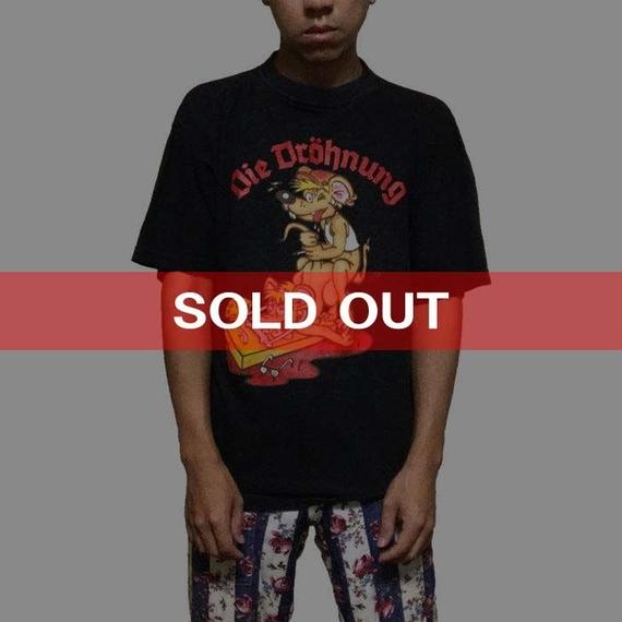 【USED】80'S-90'S GERMAN MOUSE PUNK T-SHIRT
