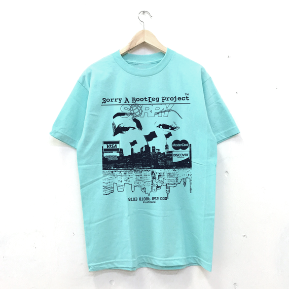 SORRY - Payment Tee Celadon
