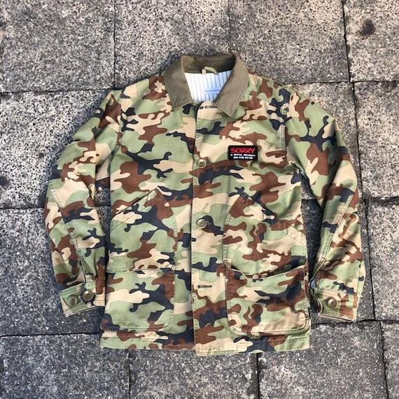 SORRY Army Combat Jkt feat.Head porter
