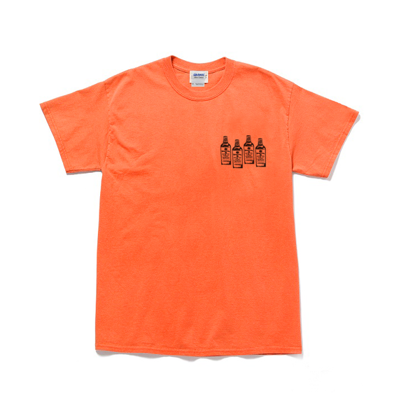 Xaymaca aclcoholic club - SAKE FLAG Tee / Orange