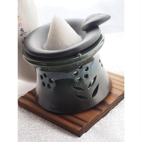 塩浄炉セット 花