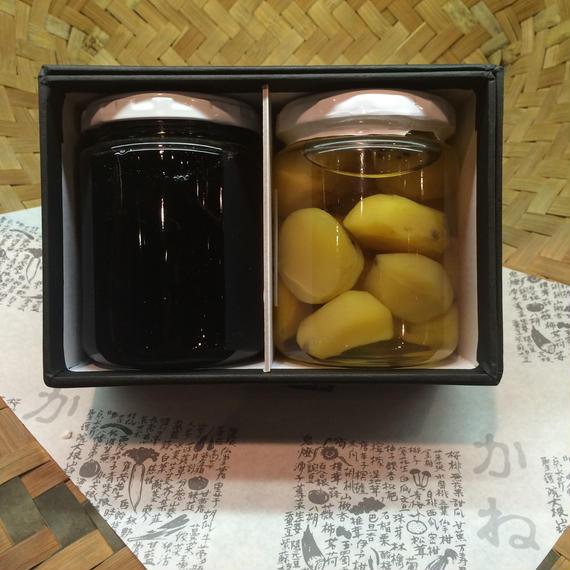 黒豆と栗の甘露煮