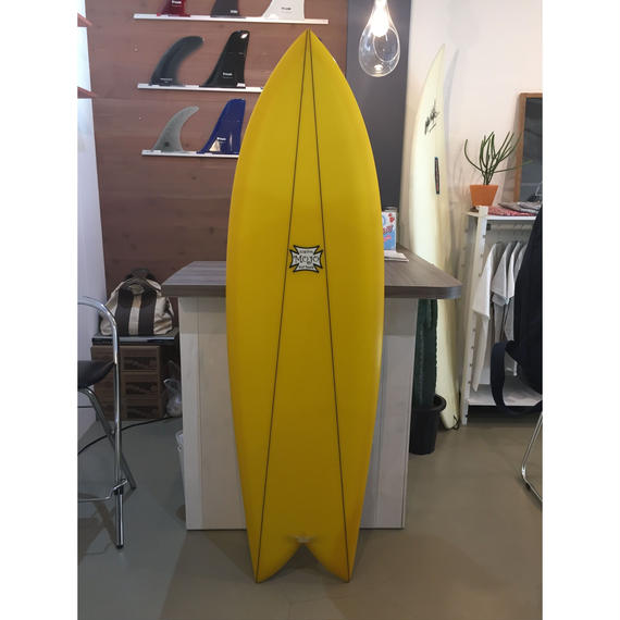 MOJO  surfboard レトロフィッシュ