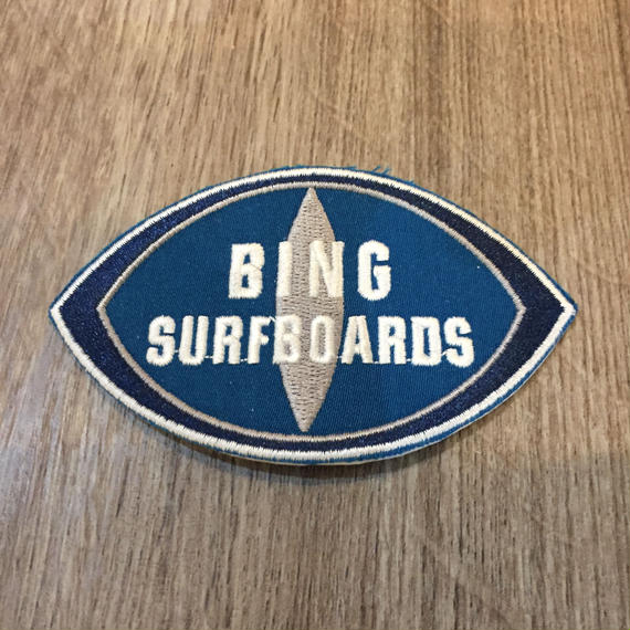 BING surfboard patch