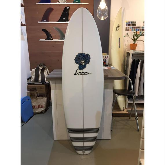 CHUCK DENT surfboard  PGR  hybrid