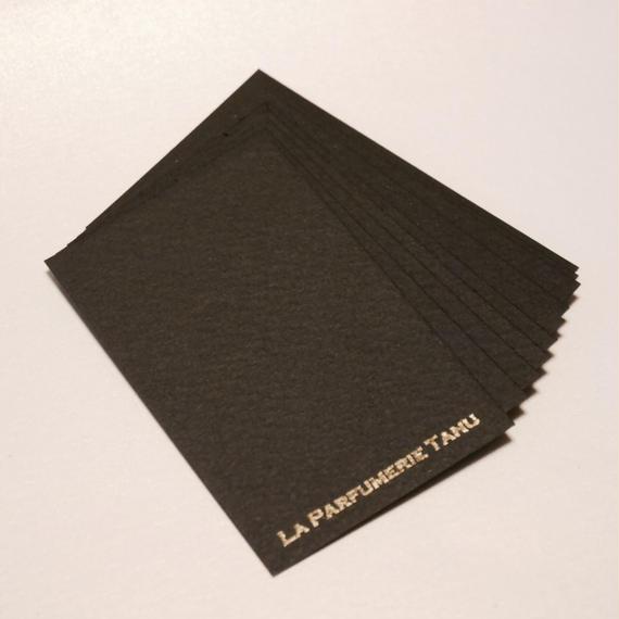 カードムエット(ユーロサイズ) ブラック 業務パック300枚
