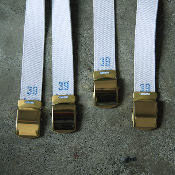 france dead stock canvas belt