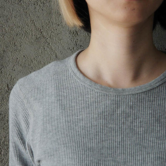 thermal shirt gray